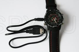 Camera hidden in waterproof watch 4GB