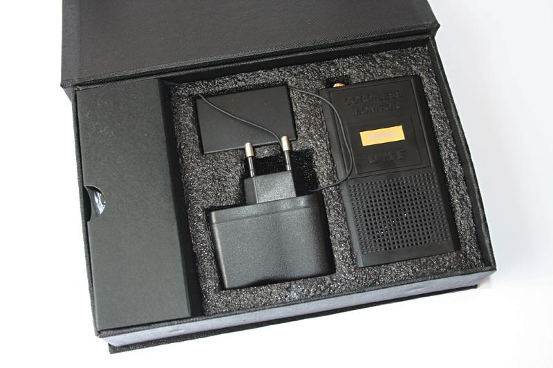 Audio receiver and transmitter kit