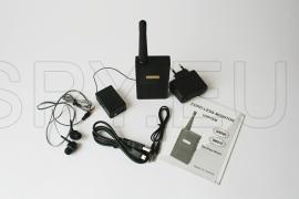Conjunto profissional de receptor de áudio e transmissor