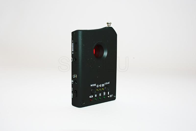 Detector para câmeras escondidas e dispositivos de escuta