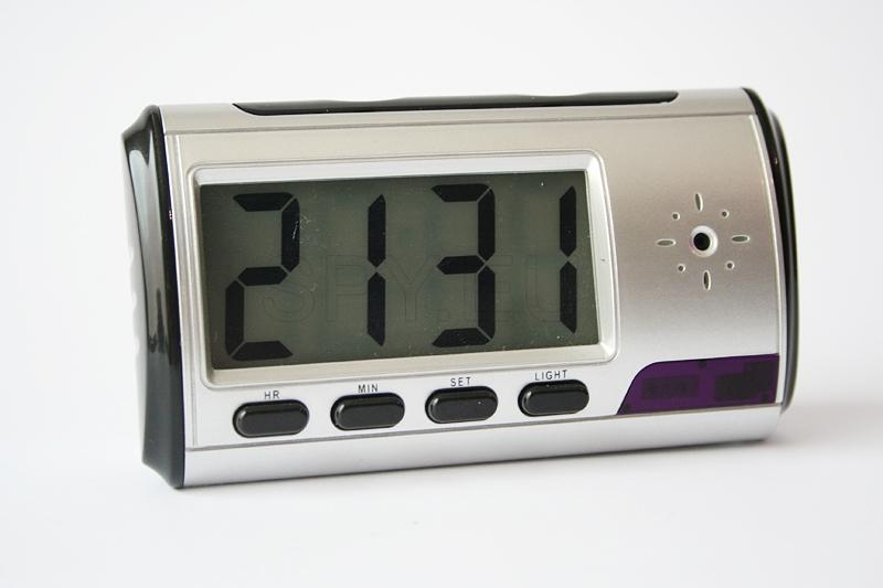 Hidden camera in a desk digital clock – 4GB