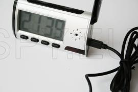 Câmera escondida em relógio digital de mesa – 4GB