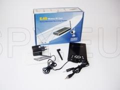 Video recorder with motion detector