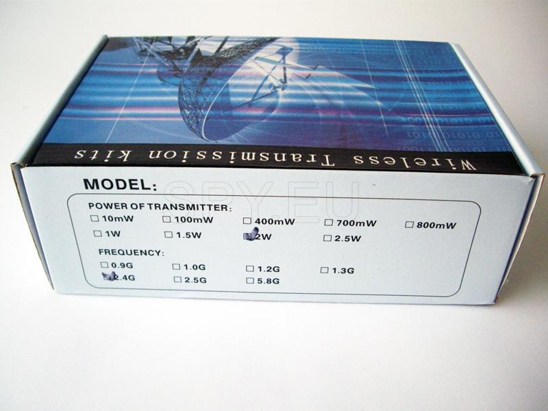 Wireless transmitter 2W