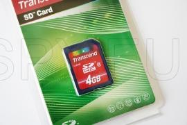 Transcend Memory card SDHC 2 - 4GB