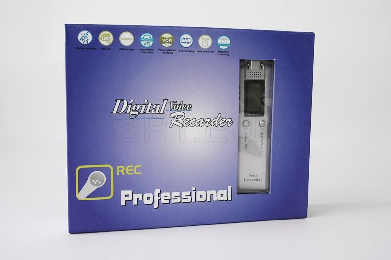 Digital audio recorder with MP3 Player-2GB