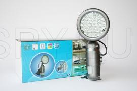 Security hidden camera with motion detector