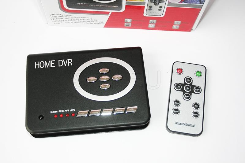 Gravador com controle remoto para câmeras de transmissão á cabo