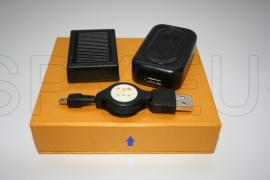 Dispositivo de escuta através da rede  GSM com 3 microfones