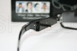 Óculos espião com câmera escondida