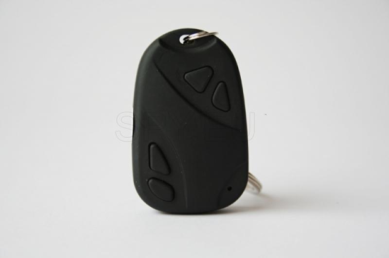 Hidden camera in a car alarm remote control – 4GB memory