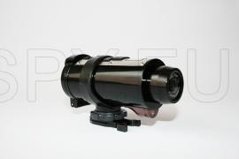 Sports camera with high resolution