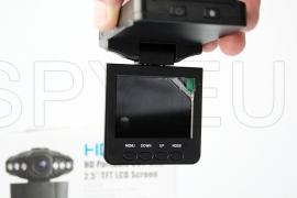 Car camera with display