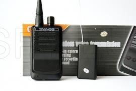 Conjunto  de receptor de áudio e escutador