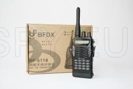 Conjunto – micro-auricular e transmissor escondido em carteira