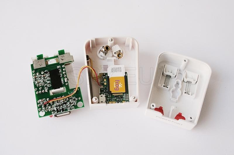 GSM listening device in universal adapter