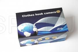 Camera hidden in a coat hook