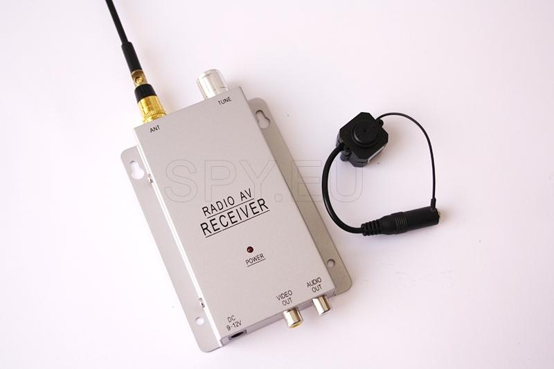 Câmera sem fios e receptor – 1,2 GHz