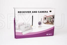 Camera with powerful transmitter and receiver 2.4 GHz