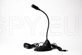 Microphone for changing voice (modulator)