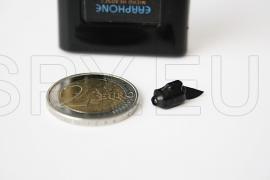 Черна микрослушалка  с bluetooth приемник