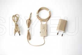 Colar com amplificador de áudio