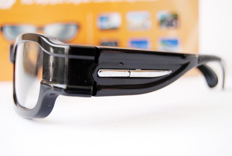 Hidden camera in glasses
