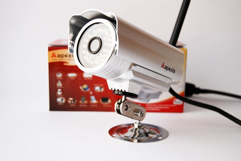 IP camera for outdoor installation
