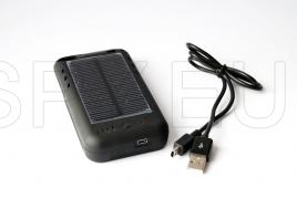 Solar charger for iPhone 4S/4
