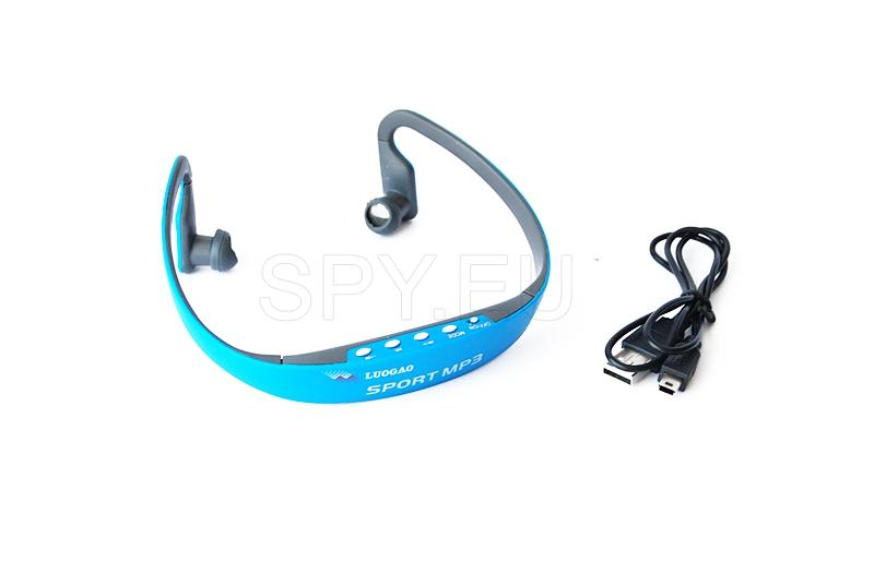 Sports headphones with mp3
