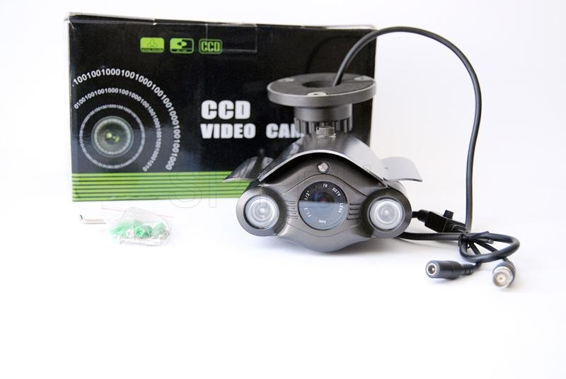 CCD camera for outdoor installation