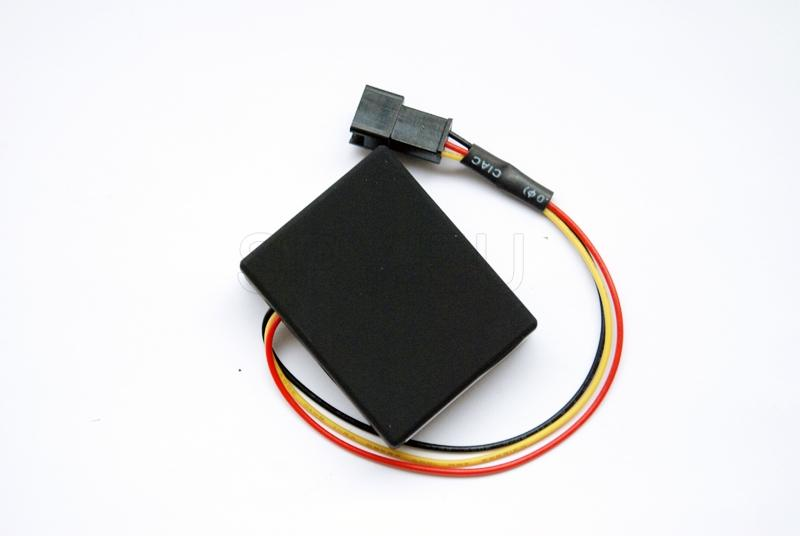 Tracker-alarm for scooters