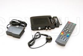Compact DVB-T decoder