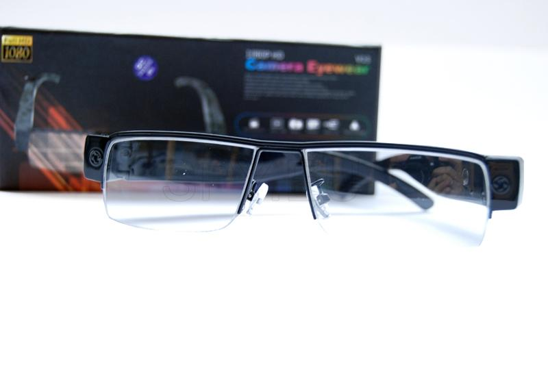 Glasses with fullHD camera