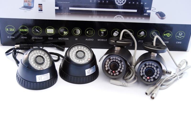 Video control system - 4 cameras
