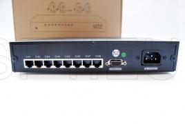 UTP receiver - 8 channels