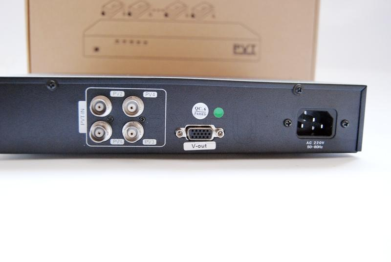 Four-channel video receiver