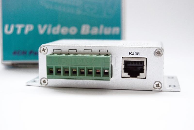 Four channel video balun - U204