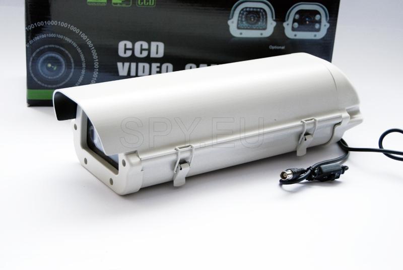 CCD camera with IR LEDs