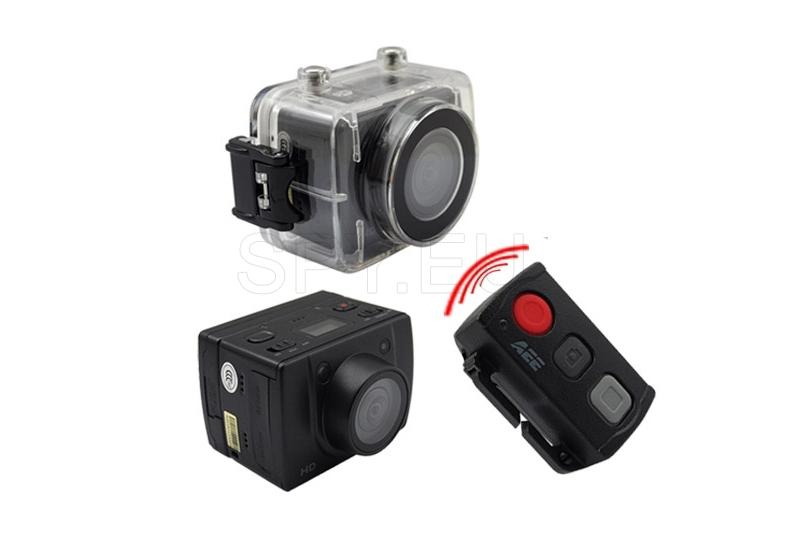 HD camera in a waterproof casing