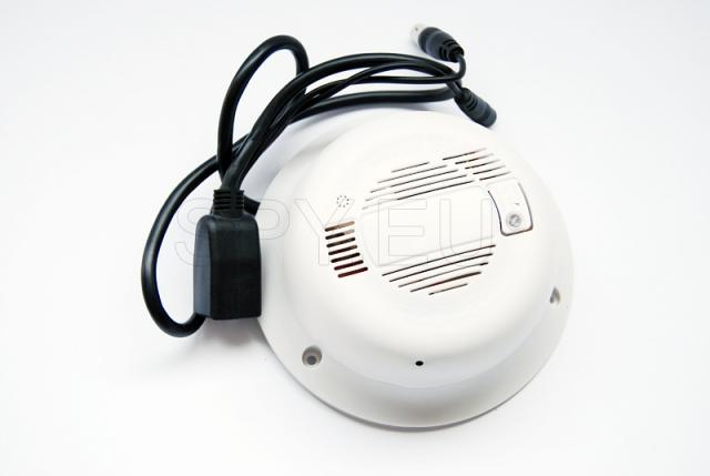 Wireless IP camera hidden in smoke detector