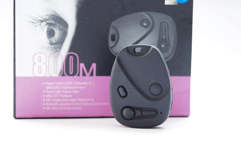 HD camera in a car alarm remote control
