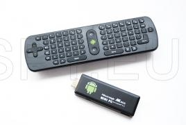 Mini Wireless Mini Keyboard PC + minicomputador TV