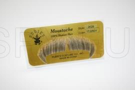 MW-LG - Winchester Moustache- Light Grey