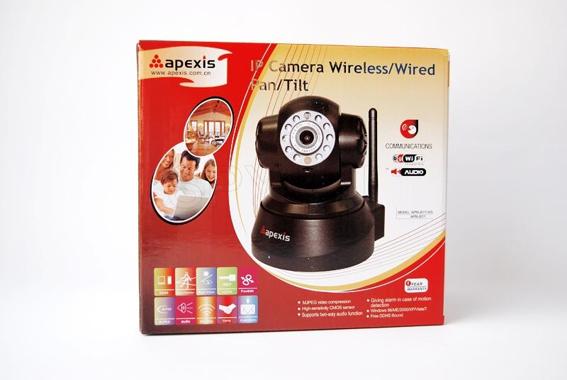 Mobile IP camera Apexis