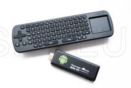 Mini Teclado inalámbico + Mini PC minicomputador