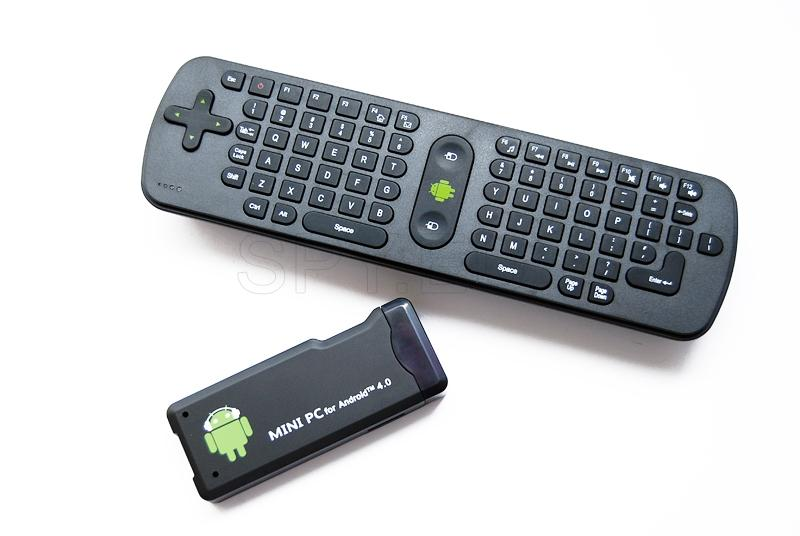 Wireless mini keyboard + Mini PC with Android 4.0