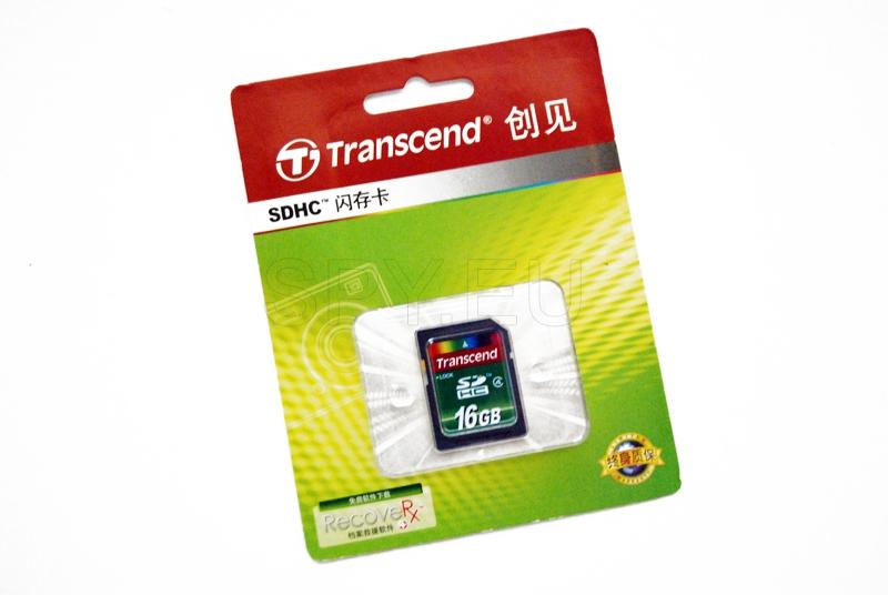 Transcend Memory card - 16GB