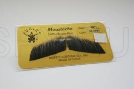Gentleman's Moustache- Dark Grey