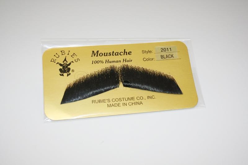 Gentleman's Moustache- Black